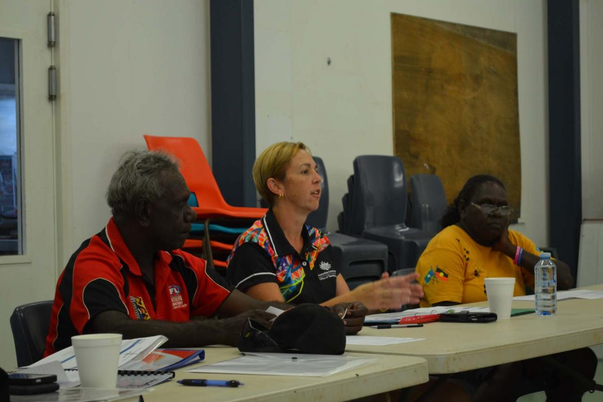 ​Milikapiti-Wurankuwu consultative forum meeting 3 November 2016
